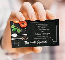 Vista Print - Promotions - Business Cards - Content Image -Signature Cards