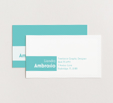 Vista Print - Promotions - Business Cards - Content Image -Standard Cards