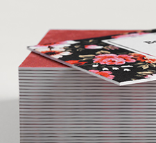 Vista Print - Promotions - Business Cards - Content Image -Ultrathick Cards