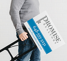 Vista Print - Promotions - Signs and Posters - Content Image - Lawn signs